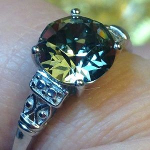 🔥NWT! Certified Swarovski Black Diamond Crystal